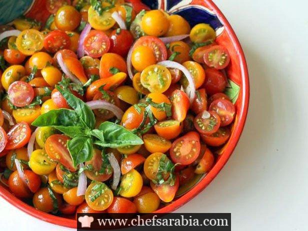 سلطة طماطم