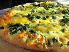 البيتزا الخضراء